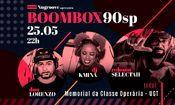 Nugroove apresenta: BoomBox90sp + Robsom