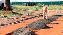Daerp inicia duas novas obras de construção de emissários de esgoto