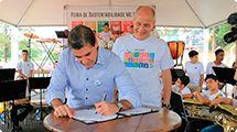 Assinado acordo de cooperação em sustentabilidade entre Prefeitura e Mac Donald's