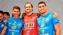 Em manhã de festa, Vôlei Ribeirão é apresentado à elite do vôlei brasileiro