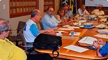 Superintendente e diretor técnico do Daerp apresentam projetos a diretores da Acirp