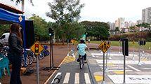 Parque Maurílio Biagi também receberá ações educativas de trânsito
